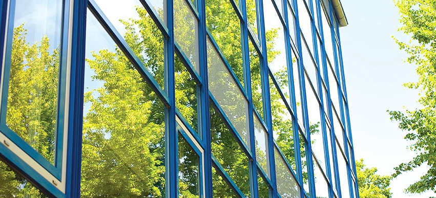 dual-reflective window film